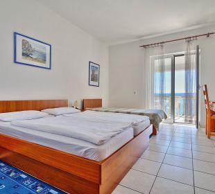 Drei-Bett Zimmer Villa Pavlinka