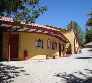 Eingang Hacienda Hacienda Los Andes