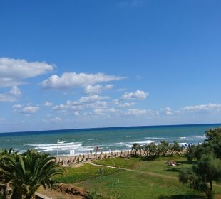 Blick vom Balkon Vantaris Beach Hotel