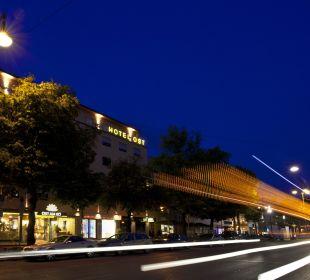 Aussenansicht vor dem Fuggerboulevard City Hotel Ost am Kö Augsburg