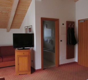 Blick ins Zimmer Hotel Blitzburg