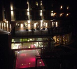Bei Nacht  Landhotel Stemp