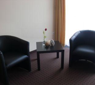 Sitzgruppe Doppelzimmer Hotel Am Heidepark