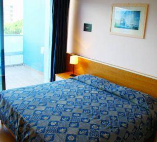 La camera all'ultimo piano dove abbiamo soggiornato Hotel Alemagna