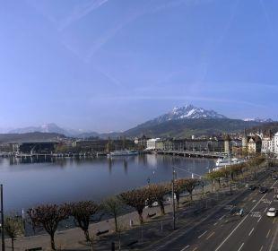 Panorama view Hotel Schweizerhof Luzern