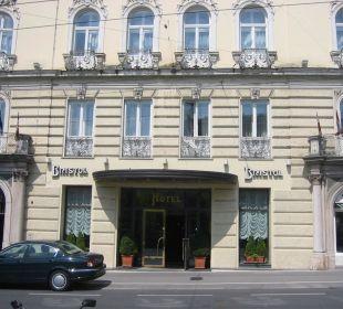 Eingangbereich Bristol Salzburg Hotel Bristol Salzburg