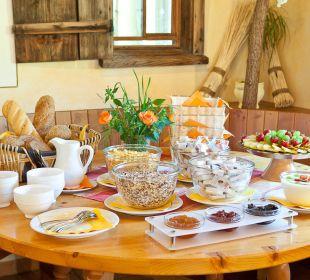 Frühstückbuffet im Schwabenhof Gasthof Schwabenhof