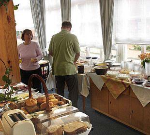 Frühstücksbuffet Hotel-Pension Haus Angelika