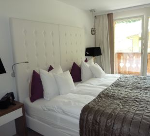 Schlafzimmer Hotel Matthiol