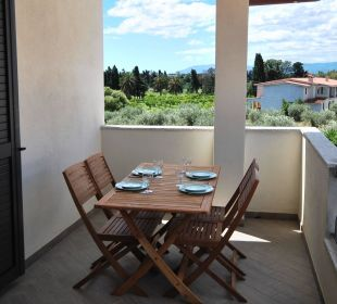 Terrasse der Wg CEDRINO Holiday Residence Rifugio