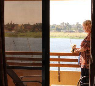 Blick auf den Nil Achti Resort Luxor