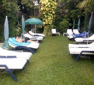 Liegewiese zum Pool K Hotel