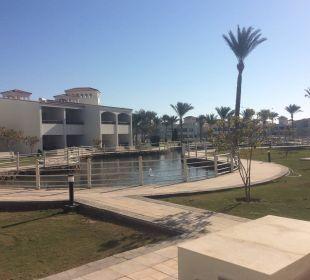 Vom Zimmer aus gesehen Dana Beach Resort