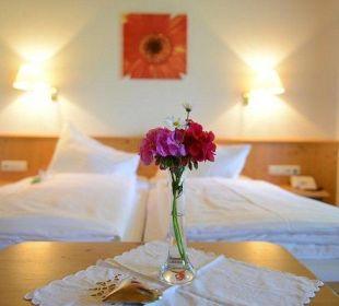 Doppelbettzimmer mit Balkon Landgasthof Sonnblick