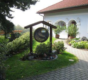 Eingang Gästehaus Adelmann