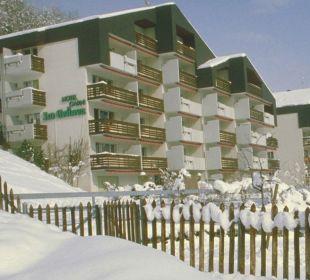 Aussenanischt Winter B&B Breiten Wallis Schweiz B&B Breiten