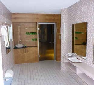 Wellnessbereich Hotel Alpenblume
