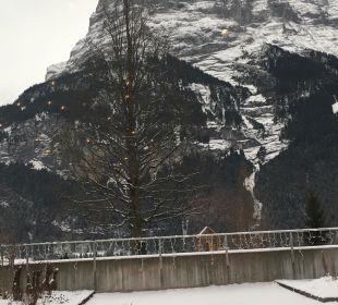Blick vom Wellness aus Sunstar Alpine Hotel Grindelwald