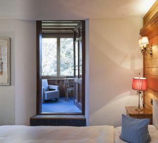 Veranda Zimmer Nr. 14 Chesa Salis Historic Hotel Engadin
