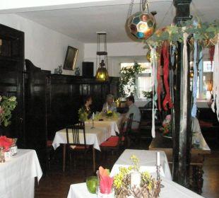 schönes Restaurant Flair Hotel Weisses Roß