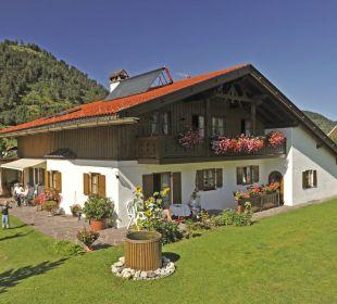 Unser Haus im Sommer Ferienwohnung Alpenwelt