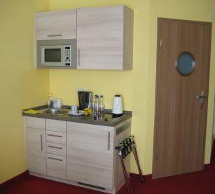 Mini-Küche Aparthotel Strandhus