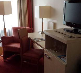 Tv, Schreibtisch, Leseecke... Hotel am Kurpark