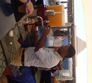 Ein frisches Bierchen an der Strandbar