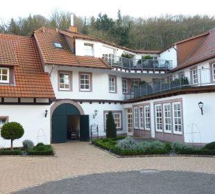 Rückseite des Hotels Hardenberg BurgHotel