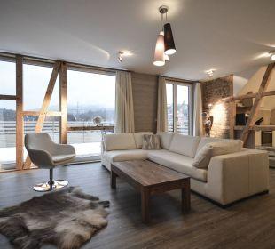 Appartement 14 - Wohnzimmer Stadt Chalet