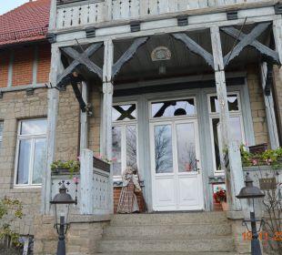 Eingang zum Gästehaus Hoffmanns Gästehaus