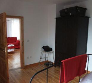 Appartment Red - Schlafzimmer  Seaside Appartements Rügen - Haus Altstadt