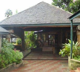 Eingang Restaurant Hotel Lake Nakuru Lodge