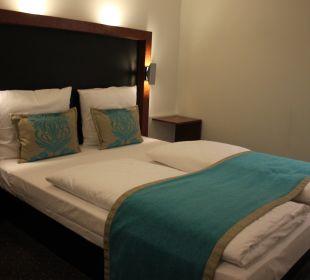 The bed Motel One Nürnberg-City