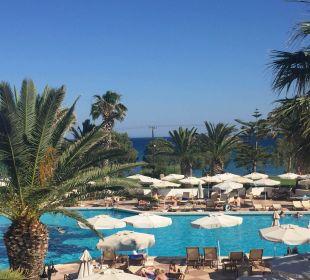 Ausblick vom Restaurant Hotel Lagas Aegean Village