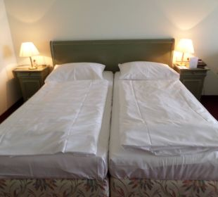 Bequemes Doppelbett Hotel Panhans