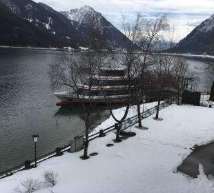 Rundfahrt auf dem Achensee  Travel Charme Fürstenhaus Am Achensee