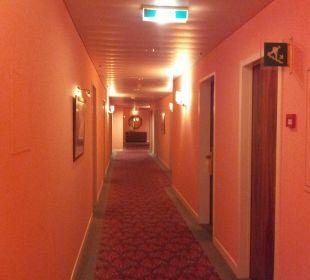 Flur Hotel De La Paix