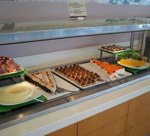 Dessertbüffet Hotel Corissia Princess