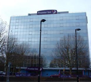 Hotel von außen Hotel Premier Inn London Wembley Stadium