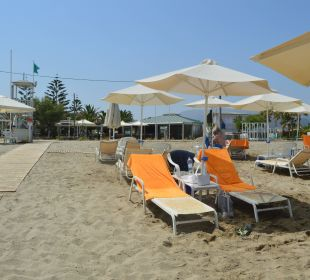 Plaża hotelowa  Hotel Minos Mare Royal