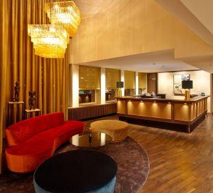 Empfangsbereich AMERON Hotel Speicherstadt Hamburg