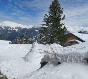Gartenanlage Alpin-Ferienwohnungen Hochzillertal