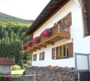 Außenansicht des Bauernhofes Oberulpointhof