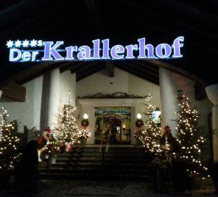 Weihnachtlich geschmückt  Hotel Krallerhof