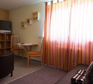 Wohnbereich Junior Suite Pension Alpenblick