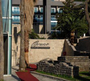 Restaurant gehört zum hotel Hotel Avala