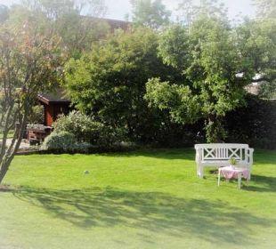 Ein ruhiges Plätzchen im Garten Haus Mühlentrift