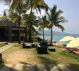 Weg zum Restaurant Hotel Chong Fah Beach Resort