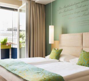 Executive schlafen und balkonisch Ruhe genießen Das Capri.Ihr Wiener Hotel